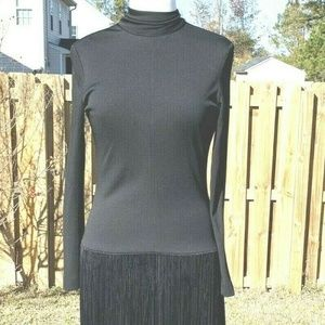 Lilli Diamond of California Dress Size M Black